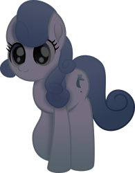 Size: 2755x3530   Tagged: safe, artist:lincolnbrewsterfan, derpibooru exclusive, earth pony, pony, my little pony: the movie, .svg available, background pony, blue blur, dark, female, happy, inkscape, looking up, mare, movie accurate, night, shade, simple background, svg, transparent background, unnamed character, unnamed pony, vector