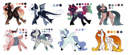 Size: 1860x800   Tagged: safe, artist:inspiredpixels, oc, oc only, pony, adoptable