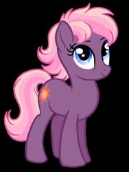 Size: 1536x2048 | Tagged: safe, artist:melspyrose, ember (g1), earth pony, aunt, generation leap
