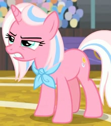 Size: 526x599   Tagged: safe, screencap, clear sky, unicorn, common ground, season 9, spoiler:s09, angry