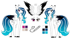 Size: 3307x1814   Tagged: safe, artist:inspiredpixels, oc, oc only, oc:marie pixel, pony, heterochromia, reference sheet, simple background, transparent background