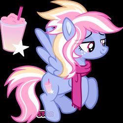 Size: 1280x1280   Tagged: safe, artist:star-gaze-pony, oc, oc:permafrost, pegasus, pony, female, mare, simple background, solo, transparent background