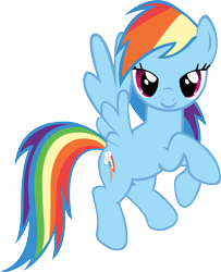 Size: 1390x1708   Tagged: safe, rainbow dash, bedroom eyes, cute, simple background, solo, transparent background, vector