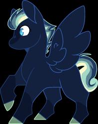 Size: 785x994   Tagged: safe, artist:rickysocks, oc, pegasus, pony, colt, magical lesbian spawn, male, offspring, parent:bon bon, parent:rainbow dash, simple background, solo, transparent background