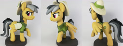 Size: 5184x1920 | Tagged: safe, artist:sparkle257, daring do, pony, butt, craft, irl, photo, sculpture, solo