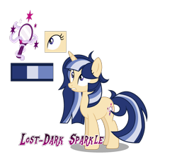 Size: 1986x1848 | Tagged: safe, artist:magicstarshine12, oc, oc only, pony, unicorn, base used, eyelashes, female, horn, mare, offspring, parent:flash sentry, parent:twilight sparkle, parents:flashlight, reference sheet, simple background, solo, transparent background, unicorn oc