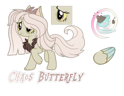 Size: 2725x2121 | Tagged: safe, artist:magicstarshine12, oc, oc only, hybrid, pony, base used, female, interspecies offspring, mare, offspring, parent:discord, parent:fluttershy, parents:discoshy, reference sheet, simple background, solo, transparent background