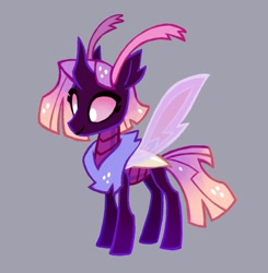 Size: 1030x1052   Tagged: safe, artist:adreamera, oc, oc only, changedling, changeling, pony, solo