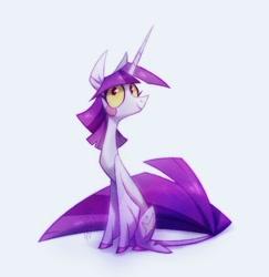 Size: 970x998   Tagged: safe, artist:adreamera, twilight sparkle, pony, unicorn, female, solo, unicorn twilight