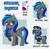 Size: 1455x1433   Tagged: safe, artist:hikariviny, oc, oc:summer breeze (pegasus), fallout equestria, enclave, enclave uniform, glasses, reference sheet, uniform