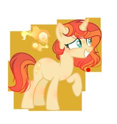 Size: 1052x1108   Tagged: safe, artist:moonnightshadow-mlp, oc, pony, unicorn, female, mare, offspring, parent:fire streak, parent:sunset shimmer, parents:sunsetstreak, simple background, solo, transparent background