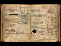 Size: 1920x1440 | Tagged: safe, tree of harmony, oc, oc:fausticorn, alicorn, equestria at war mod, alchemy, canterlot castle, eaw - union of rescue, no pony