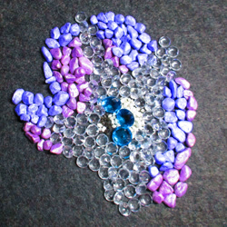 Size: 2904x2904 | Tagged: safe, artist:malte279, part of a set, rarity, craft, gemstones, mosaic