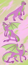 Size: 1280x2925 | Tagged: safe, artist:s0ftserve, spike, dragon, headcanon, headcanon in the description, older, older spike, solo