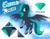 Size: 3100x2400 | Tagged: safe, artist:ponynamedmixtape, oc, oc only, oc:emerald dream, pegasus, coat markings, color palette, female, flying, reference sheet, socks (coat markings), solo, unshorn fetlocks, wings