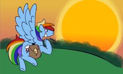 Size: 640x383   Tagged: safe, artist:tezzbot, rainbow dash, pegasus, comic