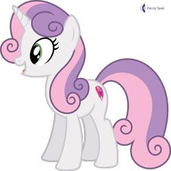 Size: 4000x4000 | Tagged: safe, artist:parclytaxel, sweetie belle, pony, unicorn, growing up is hard to do, .svg available, absurd resolution, female, mare, monthly reward, older, older sweetie belle, open mouth, open smile, simple background, smiling, solo, transparent background, vector