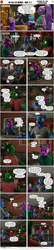 Size: 2000x9250   Tagged: safe, artist:stellarator, oc, oc:peach cobbler, oc:smoothie, oc:tokamak, anthro, unguligrade anthro, comic:we will be adored, comic:we will be adored part 17.5, 3d, blender, comic, cycles, not sfm
