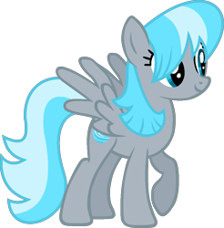Size: 937x952 | Tagged: safe, artist:pegasski, oc, oc:sea spray, pegasus, pony, base used, female, mare, simple background, solo, transparent background
