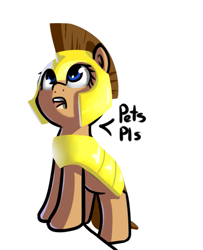 Size: 481x592 | Tagged: safe, artist:neuro, oc, oc only, earth pony, pony, female, guardsmare, mare, royal guard, solo