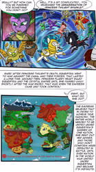 Size: 1280x2285 | Tagged: safe, artist:candyclumsy, spike, comic:revolution of harmony, backstory, male, older, older spike, world map