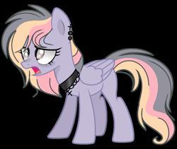 Size: 1280x1079 | Tagged: safe, artist:venomous-cookietwt, oc, pegasus, pony, female, mare, parents:twerpy, simple background, solo, transparent background