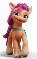Size: 751x1206   Tagged: safe, sunny starscout, earth pony, pony, g5, official, female, mare, simple background, solo, transparent background