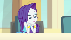 Size: 1920x1082 | Tagged: safe, screencap, rarity, a queen of clubs, equestria girls, equestria girls series, solo