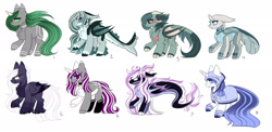 Size: 2351x1147   Tagged: safe, artist:inspiredpixels, oc, oc only, pony, adoptable