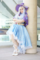 Size: 2000x3000   Tagged: safe, artist:mieucosplay, artist:notsoprophoto, trixie, human, bronycon, bronycon 2017, cape, clothes, cosplay, costume, hat, irl, irl human, photo, trixie's cape, trixie's hat