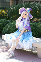 Size: 2000x3000 | Tagged: safe, artist:mieucosplay, artist:notsoprophoto, trixie, human, bronycon, bronycon 2017, cape, clothes, cosplay, costume, hat, irl, irl human, photo, trixie's cape, trixie's hat