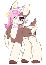 Size: 1164x1648   Tagged: safe, artist:inspiredpixels, oc, oc only, pony, coat markings, colored hooves, female, mare, one eye closed, simple background, socks (coat markings), solo, transparent background, wings