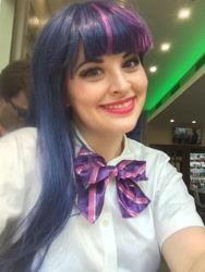 Size: 960x1280 | Tagged: safe, artist:shelbeanie, twilight sparkle, human, equestria girls, clothes, cosplay, costume, irl, irl human, photo