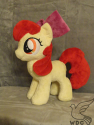 Size: 480x640   Tagged: safe, artist:whitedove-creations, apple bloom, earth pony, pony, female, filly, irl, photo, plushie