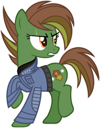 Size: 1024x1316 | Tagged: safe, artist:pegasski, oc, oc:spring fever, earth pony, pony, female, mare, simple background, solo, transparent background
