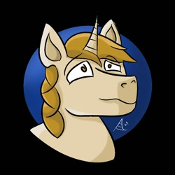 Size: 1200x1200 | Tagged: safe, artist:arthu, oc, oc only, pony, unicorn, male, solo