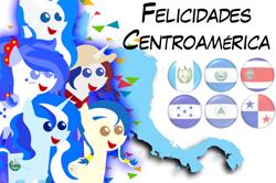 Size: 736x490   Tagged: safe, artist:archooves, oc, oc only, oc:anagua, oc:honduras, oc:panchita, oc:princess el salvador, oc:princess guatemala, alicorn, earth pony, pony, unicorn, alicorn oc, braid, central america, costa rica, el salvador, female, guatemala, hat, honduras, horn, mare, nation ponies, nicaragua, panama, pointy ponies, ponified, smiling, spanish, wings