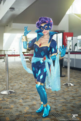 Size: 2560x3840 | Tagged: safe, artist:mieucosplay, artist:xen photography, radiance, rarity, human, bronycon, bronycon 2015, clothes, cosplay, costume, irl, irl human, photo, power ponies