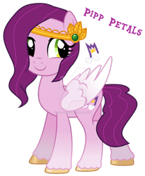 Size: 1280x1564 | Tagged: safe, artist:hate-love12, pipp petals, pony, g5, base used, simple background, solo, transparent background