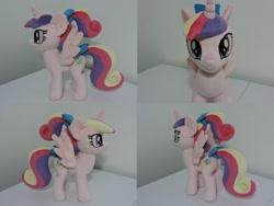 Size: 1597x1199 | Tagged: safe, artist:little-broy-peep, princess cadance, pony, irl, photo, plushie, solo, teen princess cadance