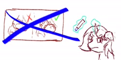Size: 2160x1080 | Tagged: safe, artist:sparklepopshine, oc, oc:sparkle pop, angry, diaper, marker, meme, poofy diaper