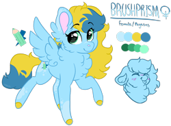 Size: 2424x1780 | Tagged: safe, artist:moccabliss, oc, oc:brush prism, pegasus, pony, chest fluff, female, filly, simple background, solo, tongue out, transparent background