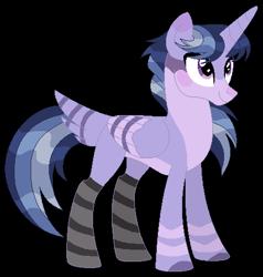 Size: 447x469 | Tagged: safe, artist:leanne264, oc, alicorn, hybrid, pony, interspecies offspring, offspring, parent:mordecai, parent:twilight sparkle, parents:mordetwi, simple background, solo, transparent background