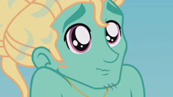 Size: 3410x1920 | Tagged: safe, screencap, zephyr breeze, blue crushed, equestria girls, equestria girls series, cute, high res, jewelry, male, necklace, solo, wet hair, zephyrbetes