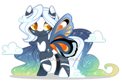 Size: 3000x1999   Tagged: safe, artist:darkjillmlp123, oc, earth pony, female, glimmer wings, mare, simple background, solo, transparent background, wings