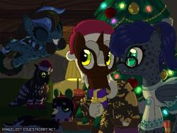 Size: 800x600 | Tagged: safe, artist:rangelost, oc, oc only, oc:iavi darkstrider, oc:ieosi darkstrider, oc:midnight chisel, bat pony, pony, unicorn, bat pony oc