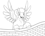 Size: 1280x1024   Tagged: safe, artist:daotterguy, flash sentry, pegasus, happy, male, solo, stallion