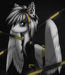 Size: 1280x1476   Tagged: safe, artist:ajaxorsomething, oc, pegasus, pony, male, police tape, solo, stallion