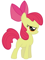 Size: 4500x6000 | Tagged: safe, artist:90sigma, apple bloom, earth pony, female, filly, simple background, solo, transparent background, vector