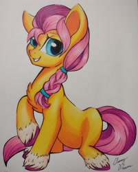Size: 1648x2048   Tagged: safe, artist:gleamydreams, sunny starscout, earth pony, pony, g5